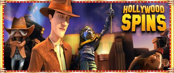 Hollywood Spins - Amazingly high quality 3D slots right here in this fabulous new Facebook Game.
