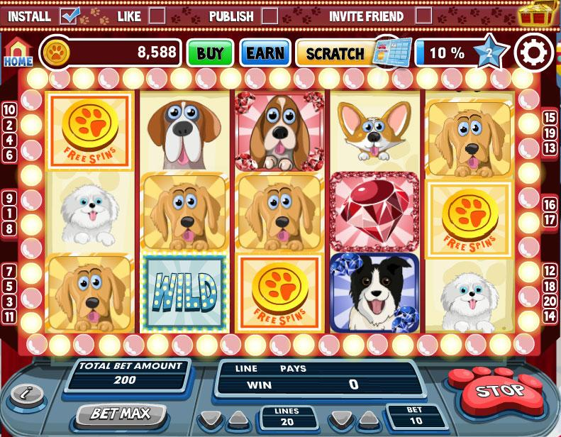 dogs slots