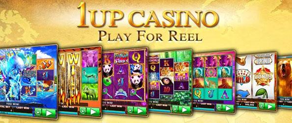 1Up Casino - Enjoy a fun Slots game with a huge range of machines and games for you to choose from.