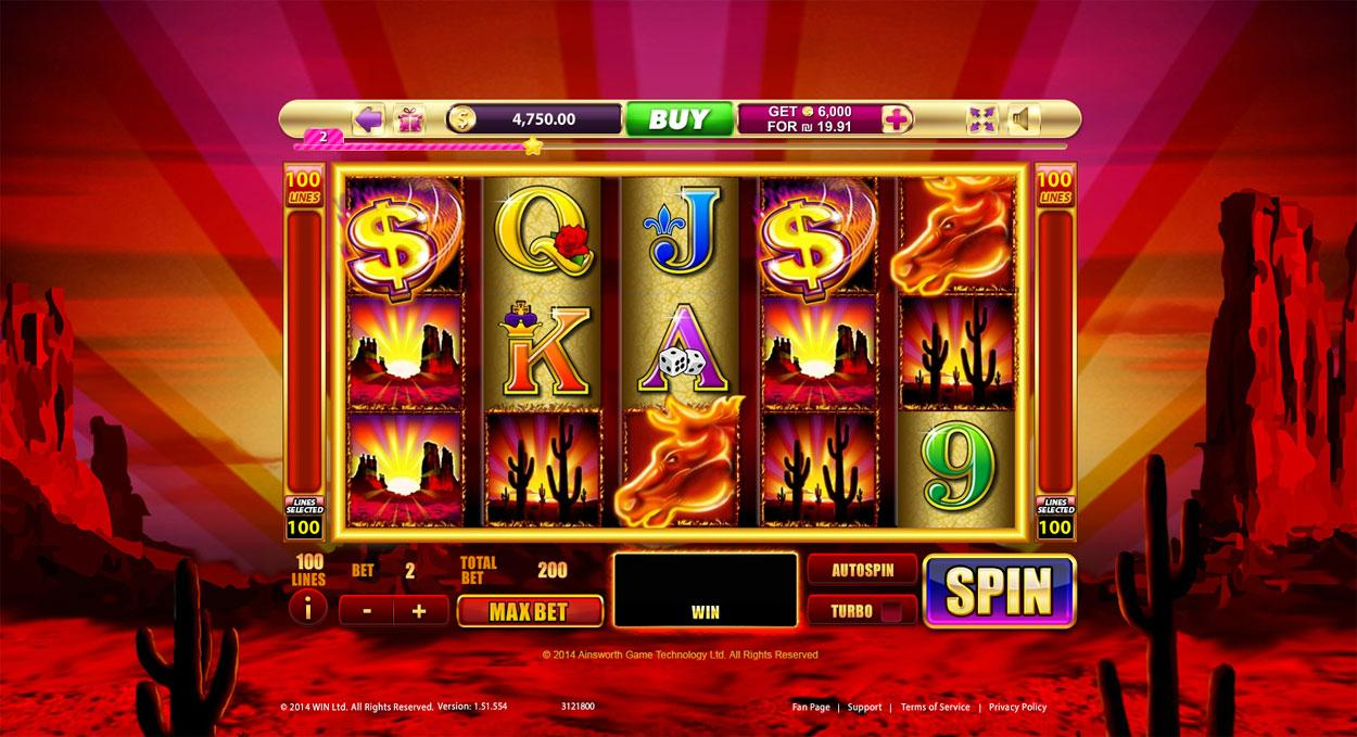 free mustang money slot machine