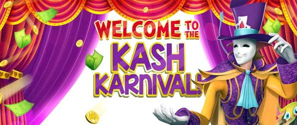 Mojikan's Kash Karnival - Experience a unique casino full of great games and lots of fun and prizes to win.
